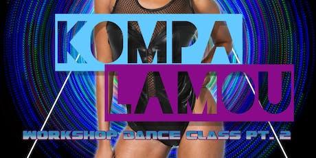 KOMPA LAMOU WORKSHOP DANCE CLASS W/ BEV FLOWERS -  tickets