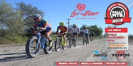 Rally MTB Las Heras entradas