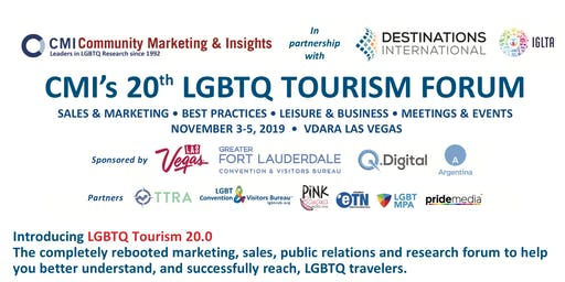 CMI's 20th LGBTQ Tourism Forum