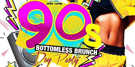 TDE- 90'S BOTTOMLESS BRUNCH & DAY PARTY @ TAJ LOUNGE tickets
