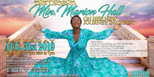 Embracing the Legend Min. Marion Hall AKA  LADY SAW