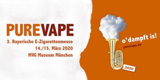 PURE VAPE 2020 - die Bayerische E-Zigarettenmesse
