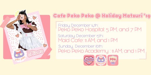 Cafe Peko Peko at Holiday Matsuri 2019