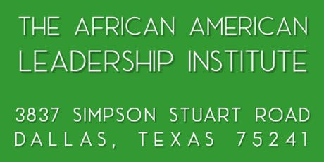 The African American Leadership Institute - Fall Policy Summit tickets