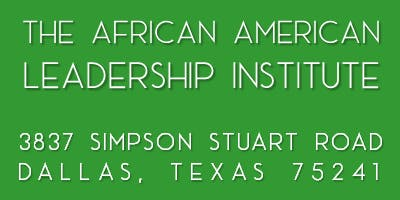 The African American Leadership Institute - Fall Policy Summit
