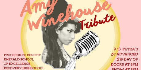Amy Winehouse Tribute - A Benefit for Emerald School tickets