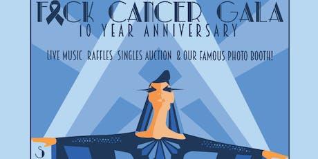 F Cancer Gala 2019 tickets
