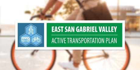 Save the Date – East San Gabriel Valley Active Transportation Plan tickets
