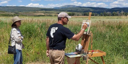 Free Tom Hughes Plein Air Painting Demo, August 25 in Oakland