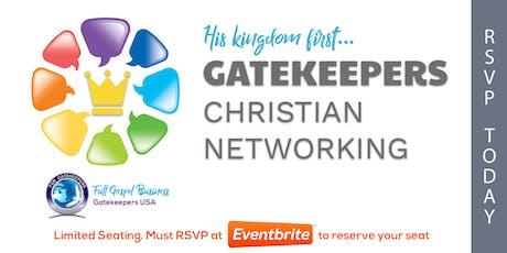 Gatekeepers - Christian Business Network Meeting (Manasota) tickets