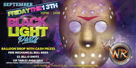 Friday the 13th Black Light Party tickets
