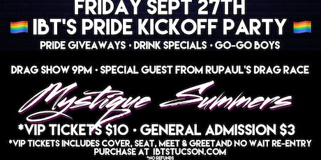 IBT's Pride Kickoff Party - FRIDAY ONLY - 9/27 @9pm tickets