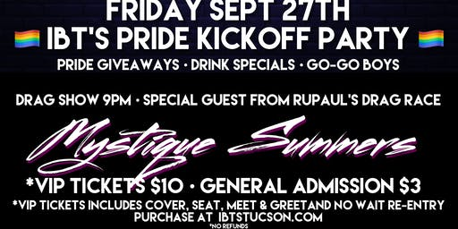 IBT's Pride Kickoff Party - FRIDAY ONLY - 9/27 @9pm