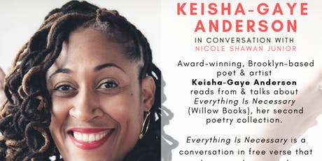 Cafe con Libros Presents Keisha-Gaye Anderson in conversation with Nicole Shawan Junior tickets