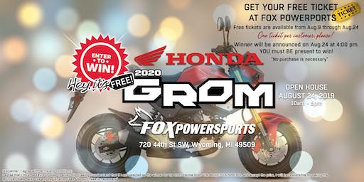 Fox Powersports is giving away a new 2020 Honda Grom!
