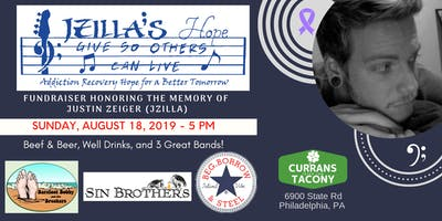 FUNDRAISER HONORING THE MEMORY OF  JUSTIN ZEIGER (JZILLA)