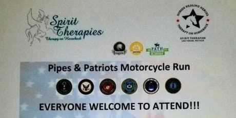 Spirit Therapies-Pipes & Patriots Motorcycle Run tickets