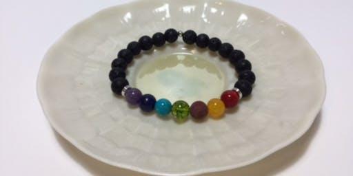 Chakra essential oil bracelets
