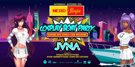 Comic-Con Boat Party feat. JVNA - NYC Cosplay Cruise tickets