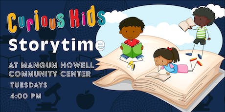 Curious Kids Storytime tickets