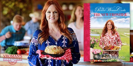 Ree Drummond signs The Pioneer Woman Cooks: The New Frontier tickets