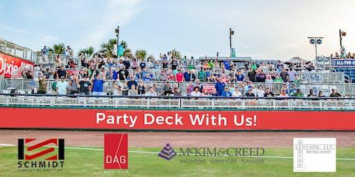Wahoos Party Deck with DAG / Schmidt / McKim & Creed / Berube Leonard