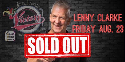 Lenny Clarke at Jest For Laughs/Victory Grille
