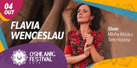 Show Minha Música Tem História com Flavia Wenceslau ingressos