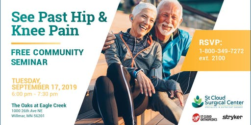 Overcome Joint Pain with Mako Technology - Free Community Seminar