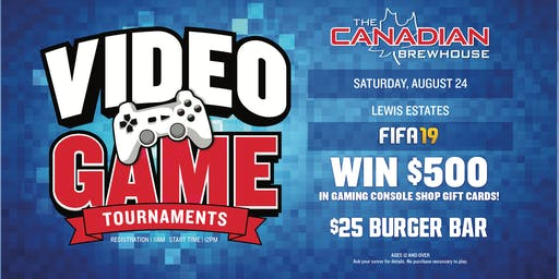 Edmonton Fifa 19 Tournament (Ages 12+)