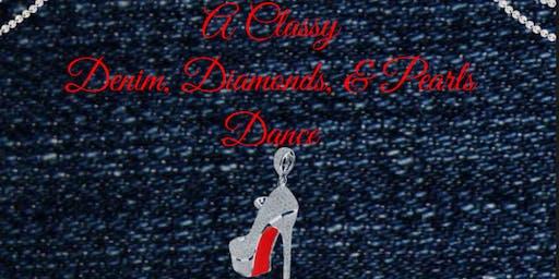 A Classy Denim, Diamonds, & Pearls Dance