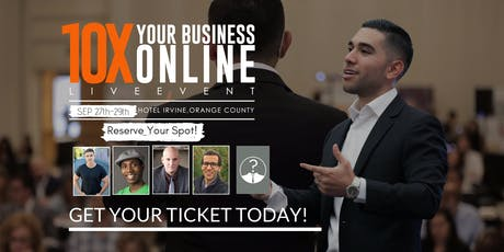 How to 10x Your Business Online 4.0  tickets