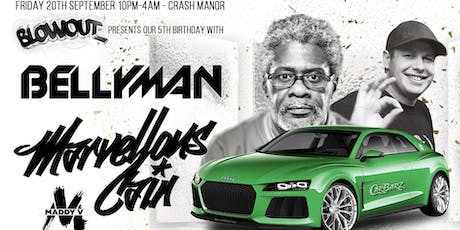 The Car Barz Cru ft. Bellyman, Marvellous Cain, Maddy V and more tickets