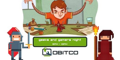 Geeks & Gamers Night