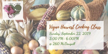 Vegan Harvest Cooking Class tickets
