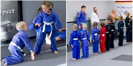 FREE- Kids' Jiu Jitsu Self Defense Class tickets