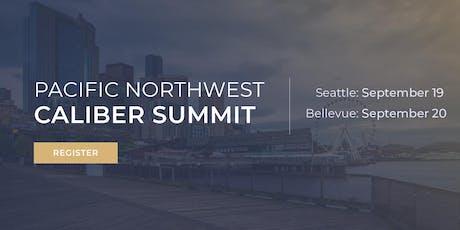 Northwest Caliber Summit   September tickets