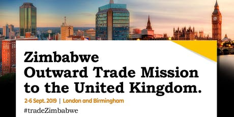 Zimbabwe Outward Trade Mission Embassy Cocktail tickets