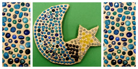 GRAND OPENING - FREE TRIAL CLASS! Magical Mud Mosaics Homeschool Workshop (5-12 Years) tickets
