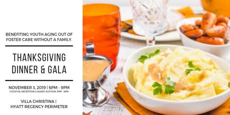Connections Homes Thanksgiving Dinner & Gala tickets