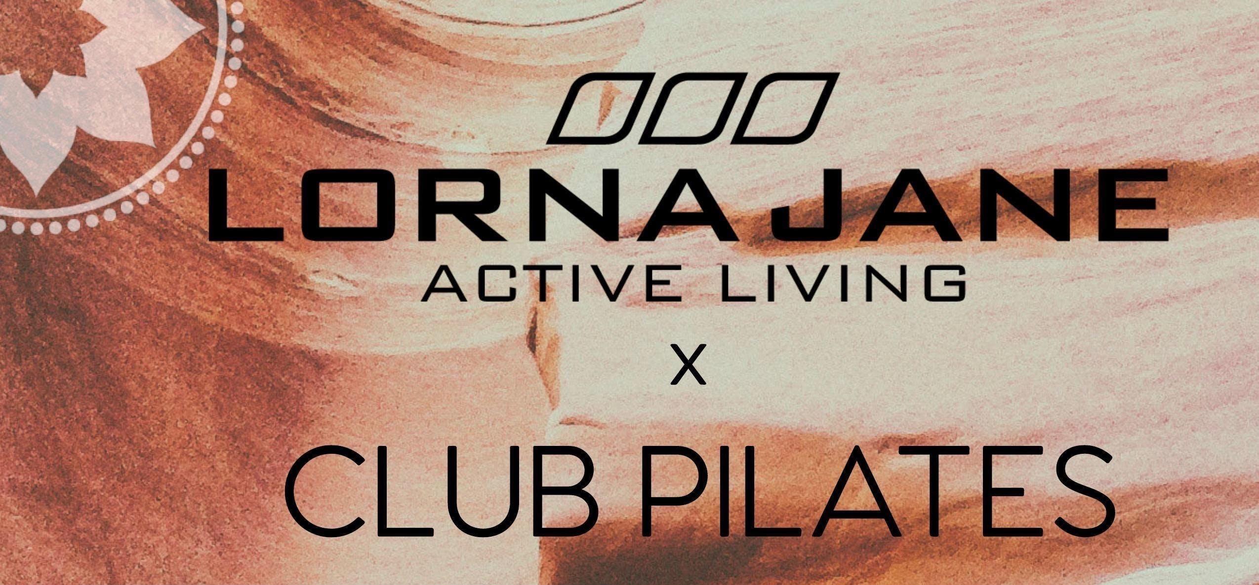 LORNA JANE x CLUB PILATES - Free Mat Pilates Class + Retail Sale