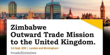 Zimbabwe Outward Trade Mission to UK:Birmingham  tickets