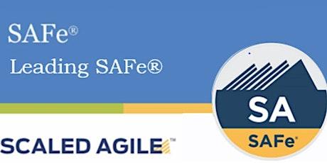Online Scaled Agile : Leading SAFe 5.0 with SAFe Agilist Training & Certification Washington DC tickets