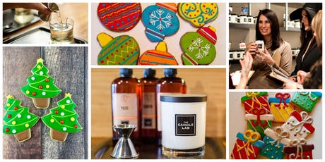 Candles & Cookies Workshop- Holiday Edition #1 (12/4) tickets