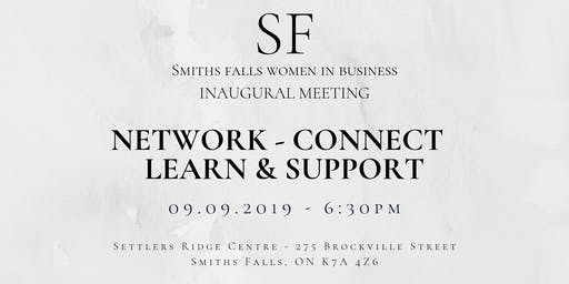 Smiths Falls Women In Business Inaugural Meeting