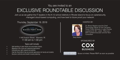 Exclusive Roundtable Discussion tickets