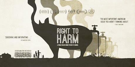 Right to Harm Springfield MO Screening tickets