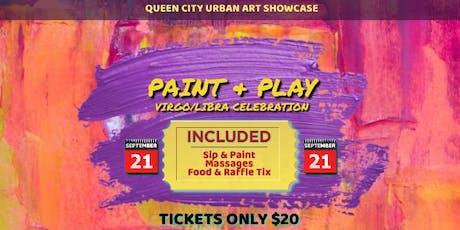 Paint & Play (Virgo/Libra Celebration) tickets