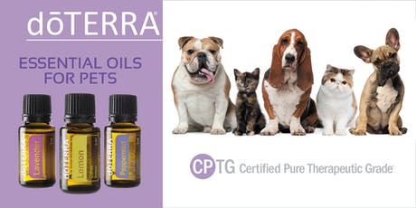 Essential Oils Safety for Dogs and Cats tickets