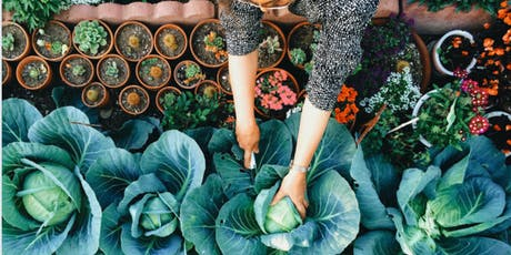 Organic Garden Design and Production: Why and How tickets